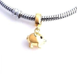 70ca3e6be Loulu Charms Jewelry | Golden Pig Charm Piggy Charm | Poshmark
